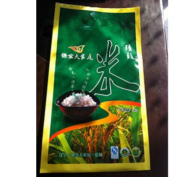 彩印大米袋